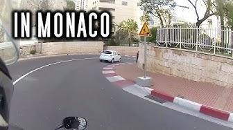 Unterwegs auf der Formel 1 Strecke in Monaco | MotoVlog #29