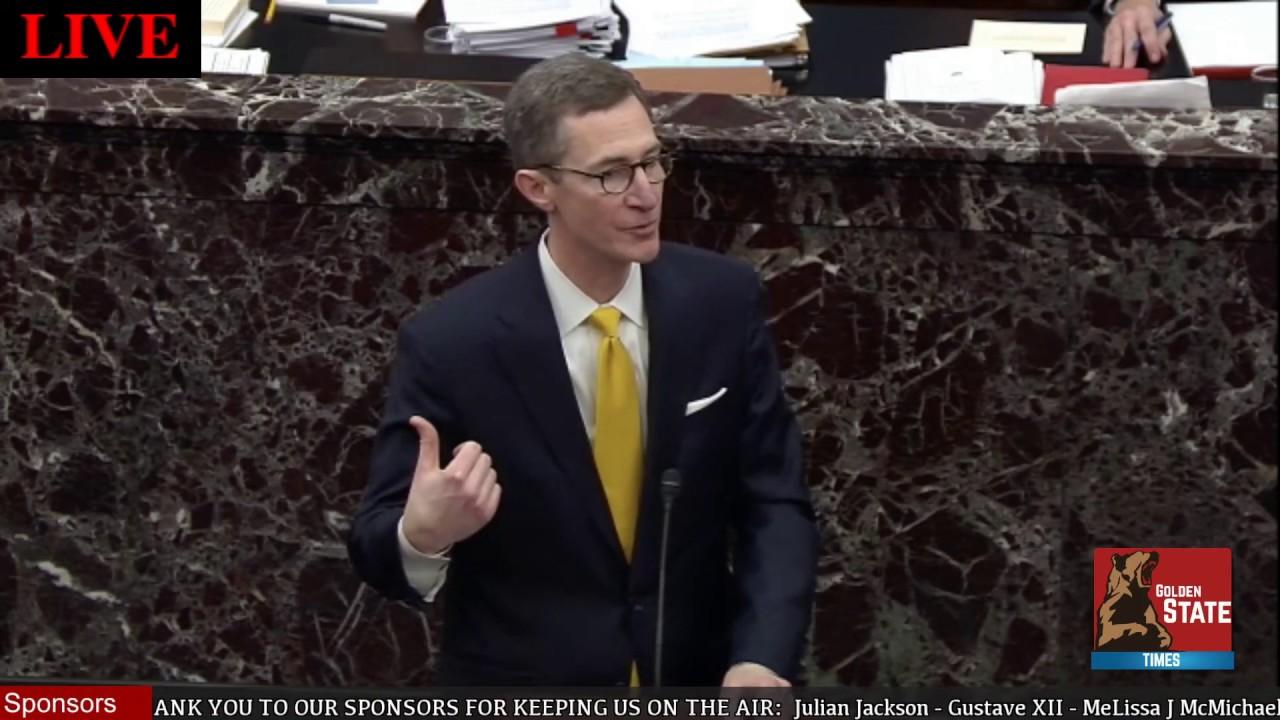 Mitt Romney asks Question at Trump Senate Impeachment Trial - GST