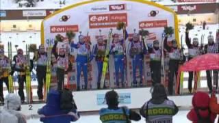 Золотая Эстафетная Команда. Biathlon 2008-2009