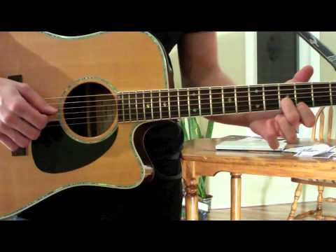 In Your Atmosphere - John Mayer (Tutorial By Isaac Boyes)