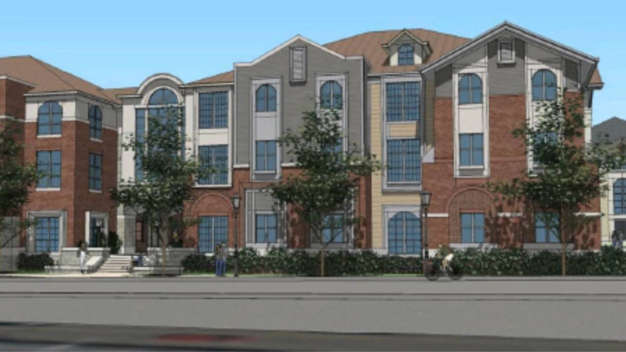 University Of Dayton Breaks Ground On Townhouse Apartments Caldwell And Brown Streets