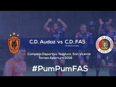 C.D. Audaz 0-1 C.D. FAS   Resumen   Jornada 10 - Apertura 2018