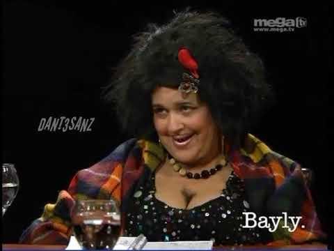 ((4/5)) JAIME BAYLY entrevista a MAGDALENA la Peluda(_( 10 MARZO 2009 )_)