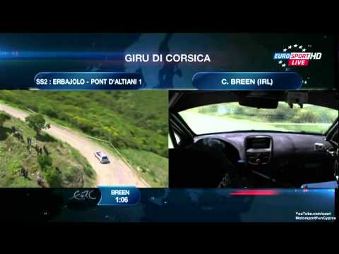 ERC 2013 France Day 1 - SS 2 Live - Part 1/4