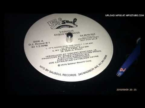 Double Exposure - My Love Is Free (Walter Gibbons mix) -