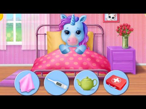 Игра - Мультик для детей: Ухаживаем за пони /Зырики ТВ