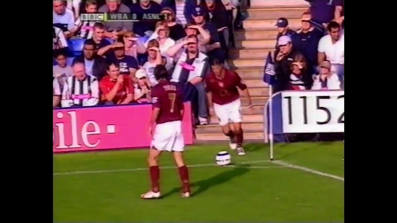 West Brom Vs Arsenal 2005 06 Pl Extended Highlights Youtube