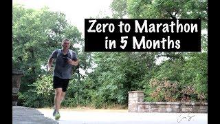 Zero to Marathon in 5 Months - Marathon Training - Day 3