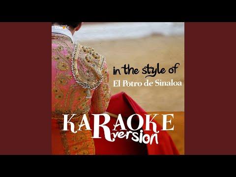 Disculpe Usted (Karaoke Version)
