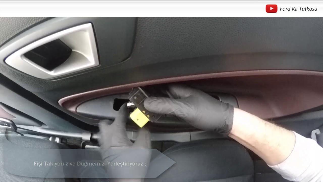 Cam Açma/Kapama Düğmesi Nasıl Değiştirilir?