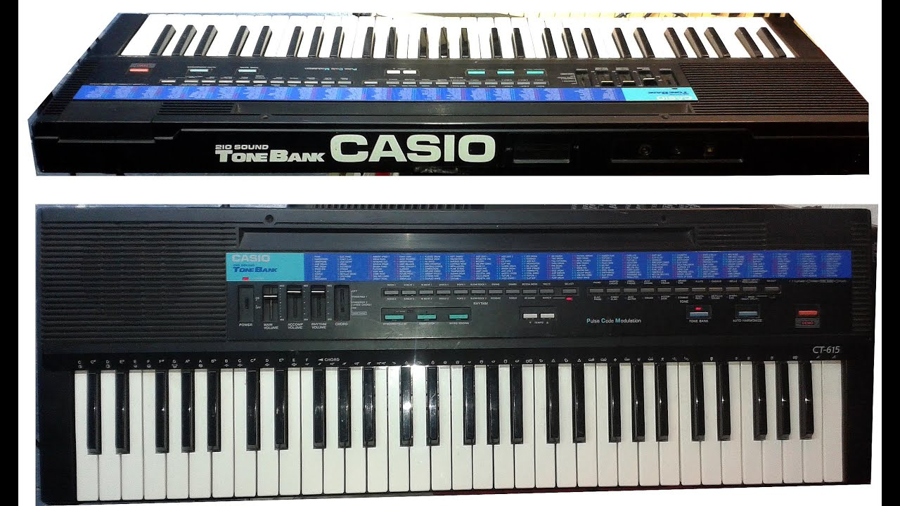 CASIO CT 615