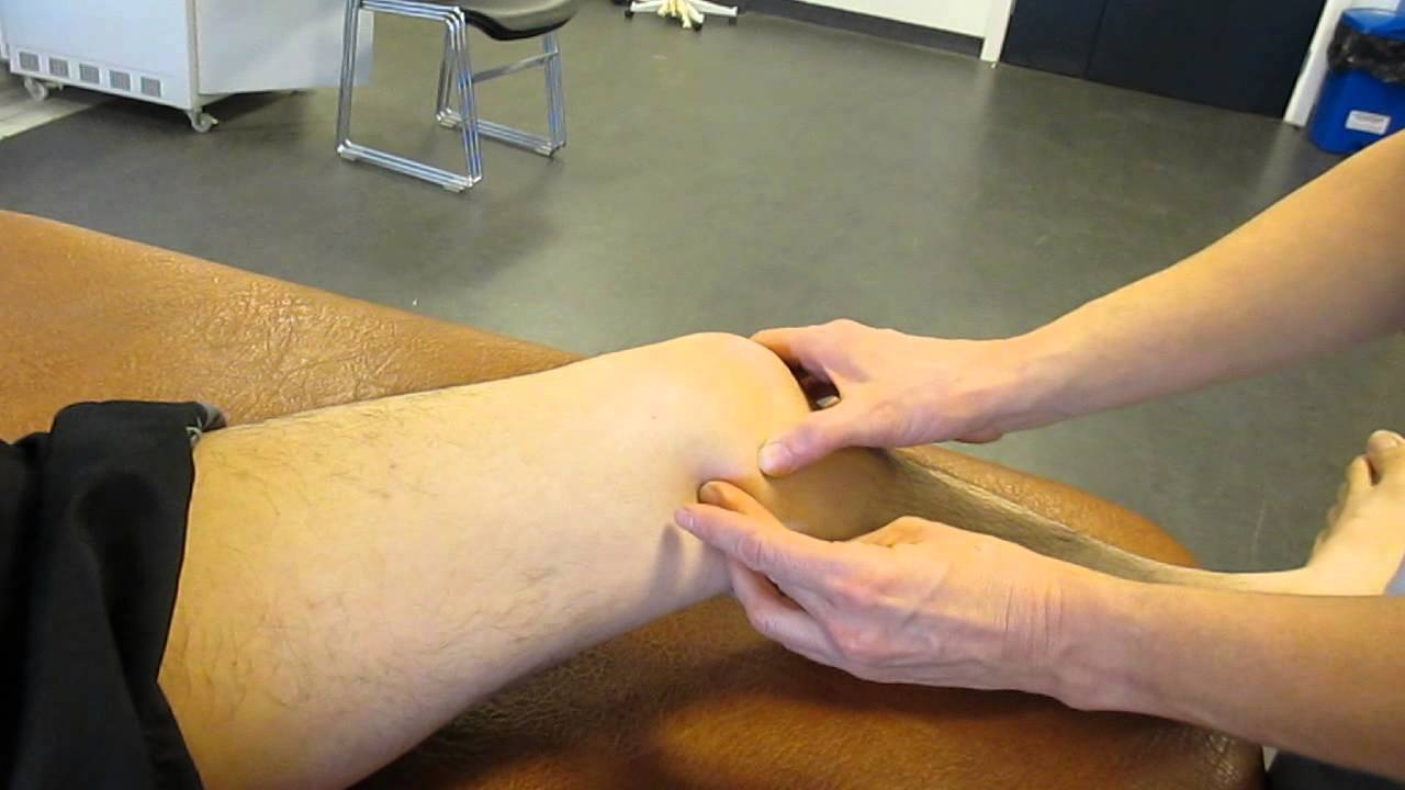 Adductor Tubercle, Thigh, Palpation - YouTube