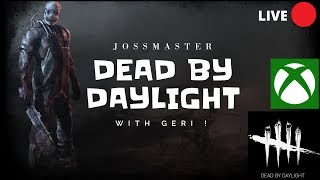 DBD ON XBOX ONE WITH GERI AND BELLE !! UPDATE IS OUT  !!! ROAD TO 4k HOURS!! 182 TO GO !!!