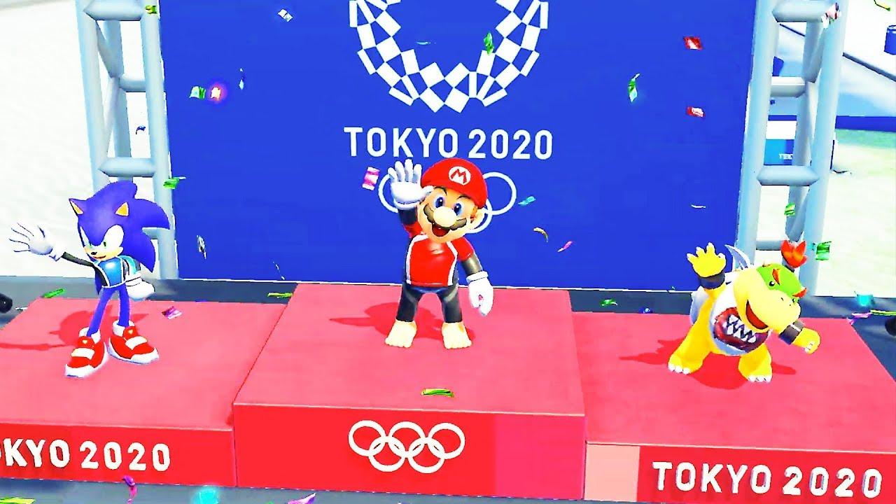Mario Sonic Aux Jeux Olympiques De Tokyo 2020 Bande Annonce De Gameplay 2019 Switch
