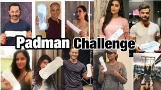 Video Bollywood Celebrities Accepted The Padman Challange (MUST WATCH)|Padman Challange|Akshay|Sonam| download MP3, 3GP, MP4, WEBM, AVI, FLV September 2018
