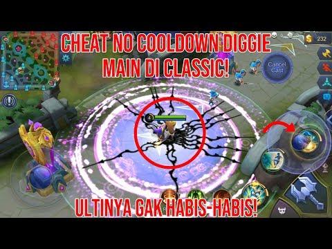 Cheat No Cooldown Diggie Di Classic! - Mobile Legends