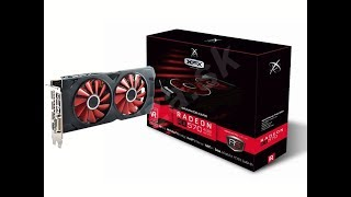 XFX RS Radeon RX 570 4GB Black Edition - - Unboxing mining speed