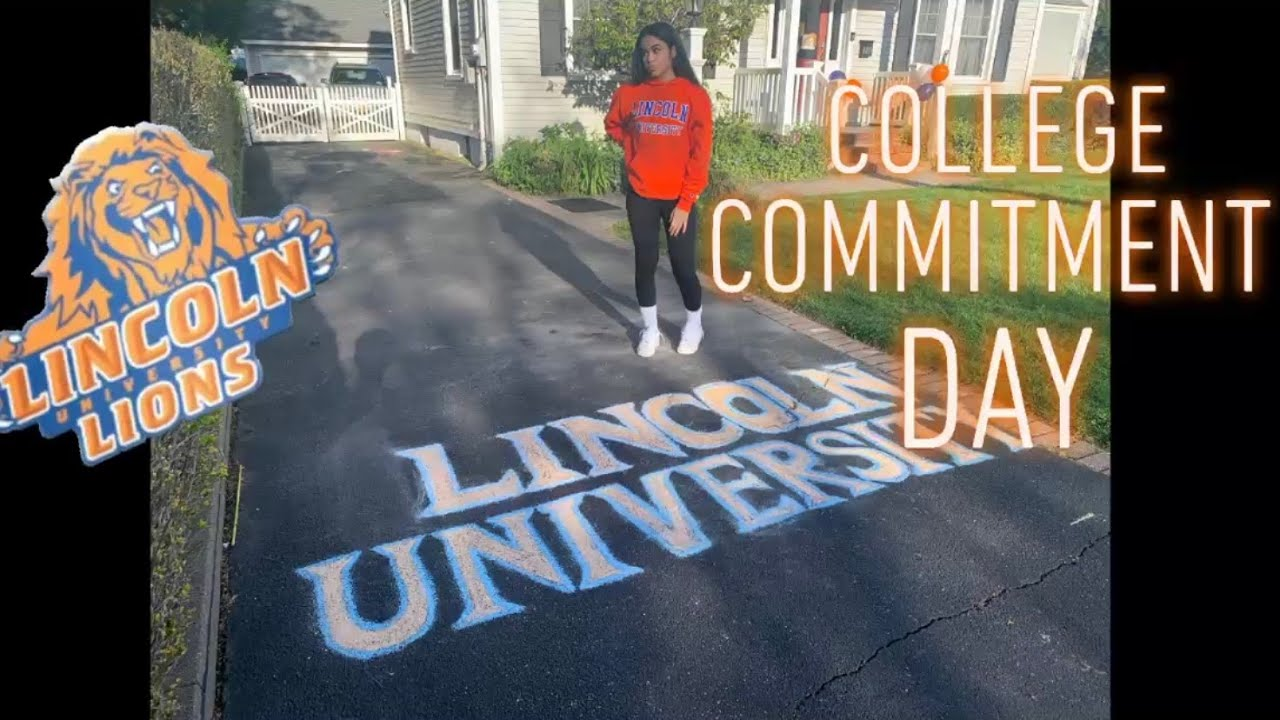 I FINALLY COMMITTED TO LINCOLN UNIVERSITY!! CLASS OF 2024!!