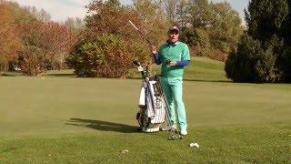 Уроки гольфа с Константином Лифановым - АлмаTV. Урок 2