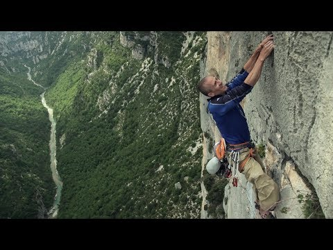 [Steve McClure and Neil Mawson in Verdon Gorge]