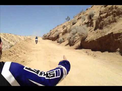 Road Jump in Dove Springs, Mojave Desert California