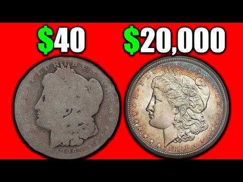 HOW MUCH ARE SILVER MORGAN DOLLAR COINS WORTH? DOLLAR COIN ERRORS VALUE