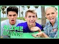 SLIME DUNK CHALLENGE | Do It For The Dough w/ Brent Rivera & Light as a Feather Cast