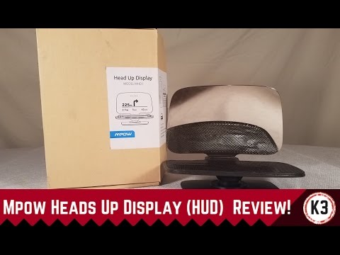 Mpow Heads Up Display (HUD) Review!