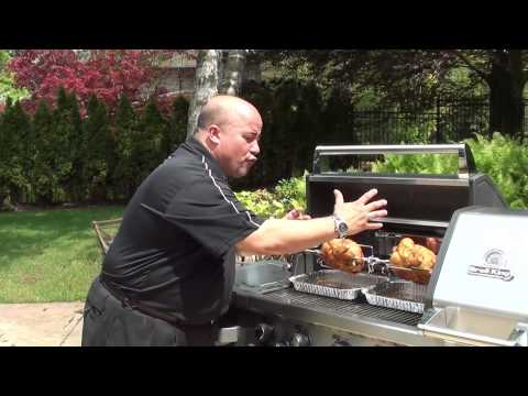 Broil King® Cooking Methods: Rotisserie