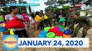 Balitanghali Express: January 24, 2020 [HD]