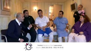 Tüp mide ameliyatından 1, 2, 2 ve 3 gün sonra 4 hastamız. İstanbul Bariatrics.
