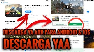DESCARGA ARK MOBILE PARA ANDROID & iOs | Explicando porqué sale No Compatible