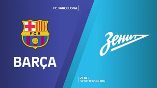 FC Barcelona - Zenit St Petersburg Highlights | Turkish Airlines EuroLeague, PO Game 1