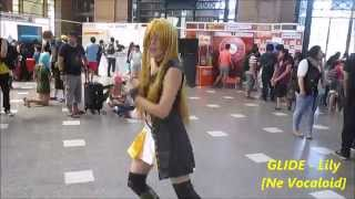 Glide - Lily (dancing among the public of anime expo - live)