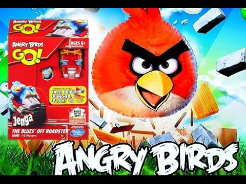 Angry Birds GO Jenga, The Blues Off Roadster, Angry Birds ...