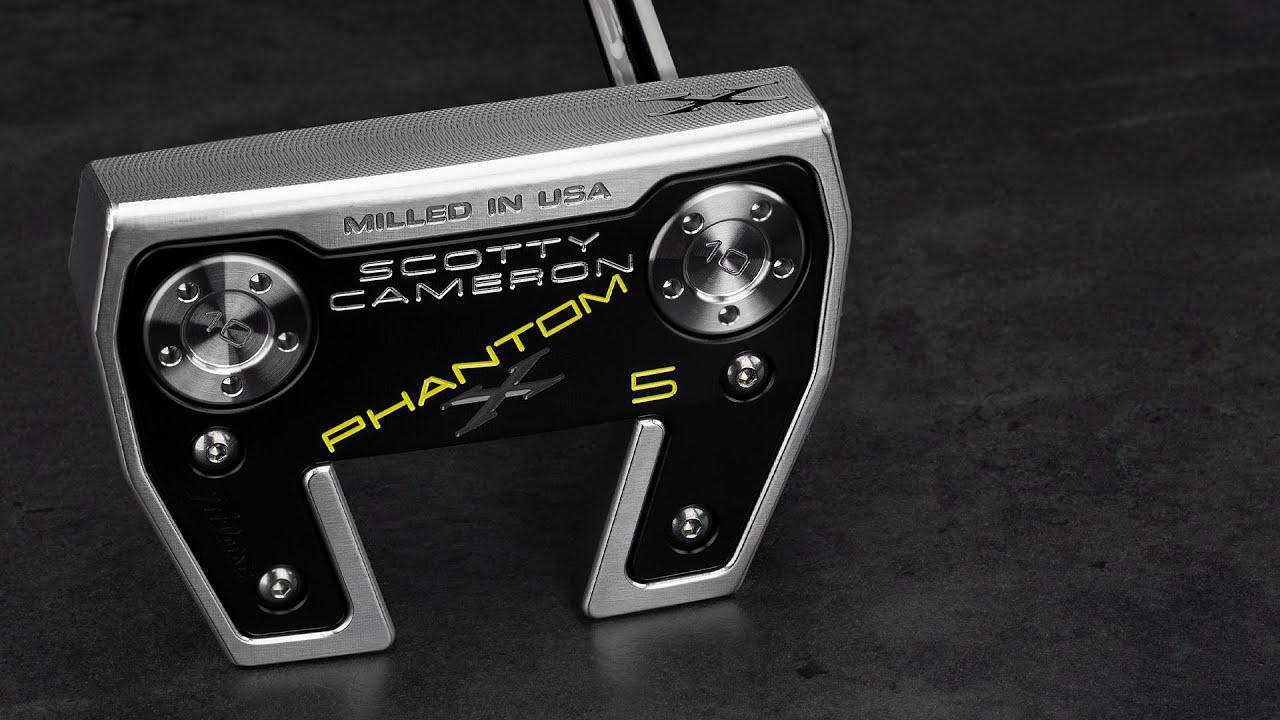 Phantom X 5 I Scotty Cameron Putters 4k