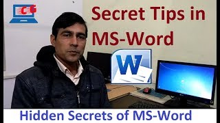 Magical secrets, tips and tricks of Microsoft Word ||
