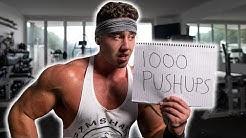 1000 PUSHUPS IN 1 HOUR CHALLENGE | Zac Perna