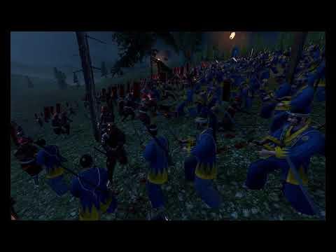 Shinsengumi Police Force vs Takeda Clan - Total War Shogun 2  Fall of The Samurai Gameplay.  