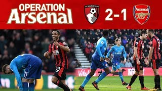 BOURNEMOUTH 2-1 ARSENAL - WE ARE A COMEDY CLUB!
