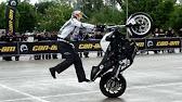 acrobazie folli con moto incredibili stunts impennate - youtube