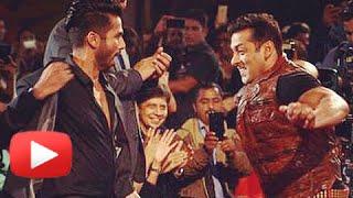 Salman Khan Shahid Kapoor Performance At Big Star Entertainment Awards 2014