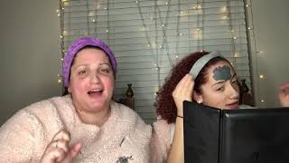 Mother & Daughter try on Magnetic Face Mask- Walmart came through