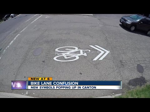 They look like bike lanes, but they're not: What's a sharrow?