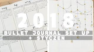 BULLET JOURNAL setup + styczeń // madeline
