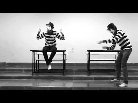 MIME ACT (at railway station) by Dhawal
