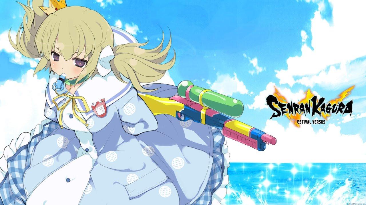 Senran Kagura Gameplay Kafuru Vs 9 Npcs Youtube