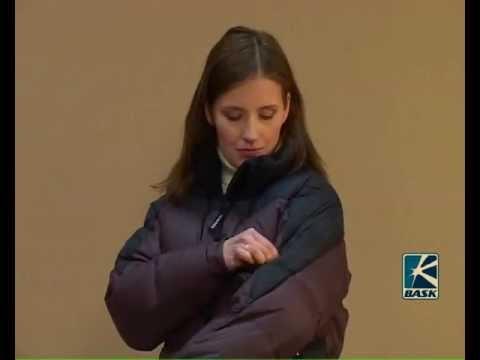 видео: Городская спортивная куртка пуховая женская Баск dakota