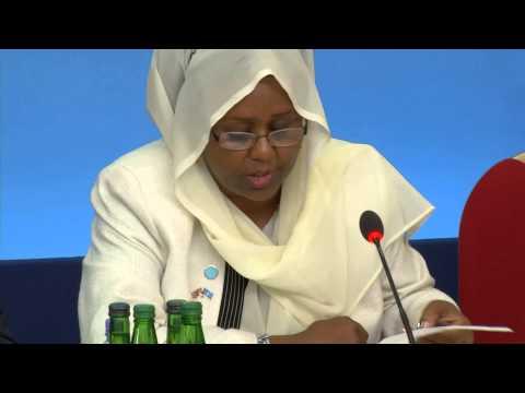 Somalia Conference - Deputy Prime Minister Fawzia Yusuf Adam