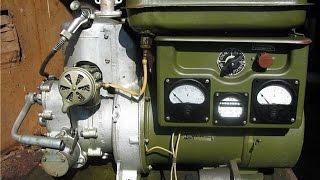 Военный бензогенератор с двигателем 2СД М1